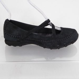 Skechers Black Mary Jane Shoes Size 6 #010